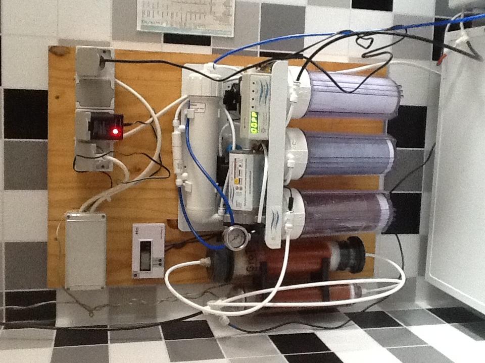 mise en route d 39 un osmoseur puratek vertex 100 eau sel param tres tests et traitements. Black Bedroom Furniture Sets. Home Design Ideas