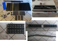 montage 1 rampe Led