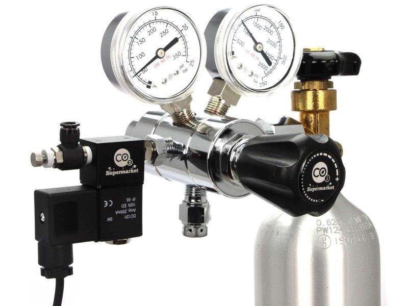 Alarme pour bouteille de CO2 vide
